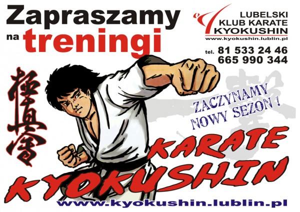 plakat karate dzieci 2014